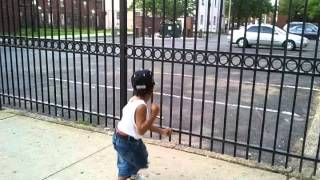 Dancing Baby: in Jersey City