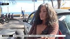 Attaque de requin : colère et émotion à Saint-Leu