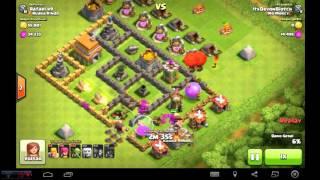 Clash Of Clans : Alguns Ataques (Canal Vorases)