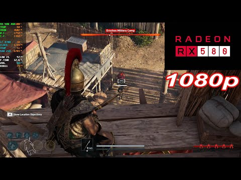 Assassin's Creed Odyssey - RX 580 4GB - 1080p |