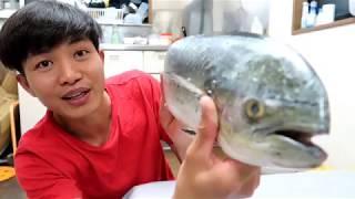 Ăn Cơm Cá Khủng Đi Công Trường Nhật Bản || cuộc sống nhật