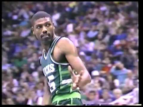 NBA - 1986 All Star Saturdy - Slam Dunk Contest With Spud Webb & Legends Game - Bob Cousy And Big O