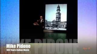 100 Years Italian Music by Mike Pidone - for event & wedding in Mallorca