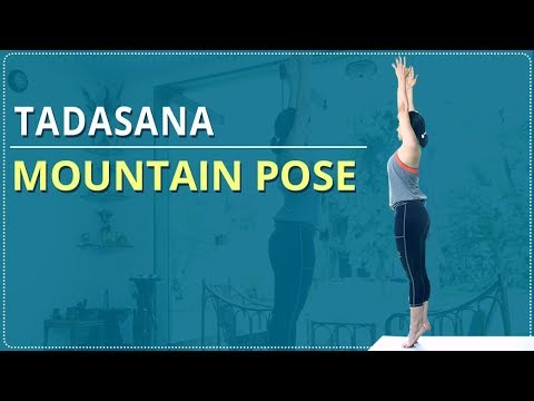 LEARN HOW TO do the MOUNTAIN POSE | Tadasana | Simple Yoga | Yoga For Beginners | Mind Body Soul