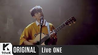 Live ONE(라이브원): Yun Ddan Ddan(윤딴딴) _ In my room(자취방에서)