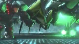 Bug Hunt - Hero's Duty Scene LATINO Wreck it Ralph Skrillex Soundtrack DVDRIP