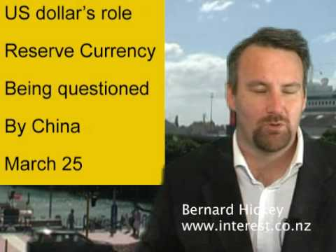 USD reserve status in question by China