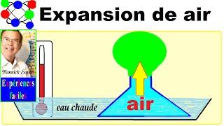 Expérience scientifique physique amusante # 14 : Expansion de l'air