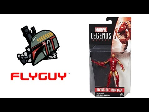 Marvel Legends Series 3.75-Inch Invincible Iron Man Toy Action Figure Review | By @FLYGUY