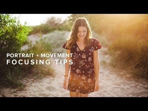 DSLR Camera Focus Tips - f1.2, Portraits & Movement
