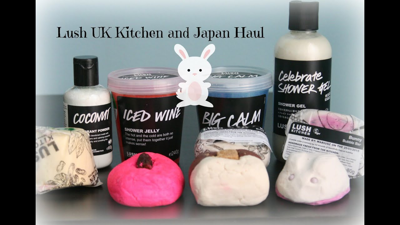 Lush UK Kitchen and Lush Japan Haul! - YouTube