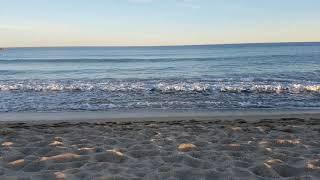 Barceloneta BCN Barcelona beach in january(1)