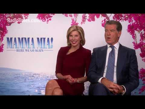 Pierce Brosnan Relieved To Sing Less in Mamma Mia! 2