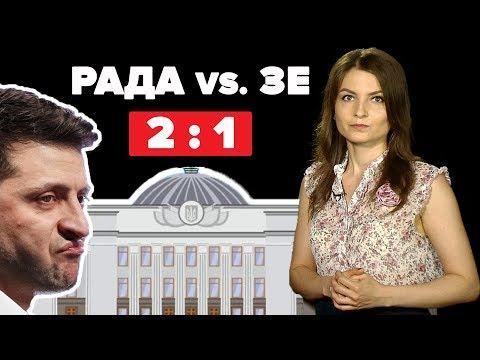 Рада Vs. Зеленський: