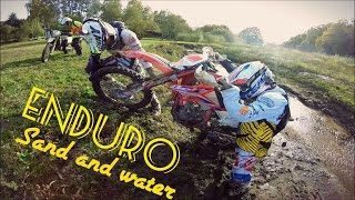 Enduro 50cc : Rock , Sand and Water