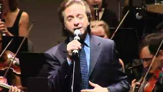 "Marwan Khoury performing ""Ya Rab"" with The SharQ Orchestra conducted by Mohamad Hamami"