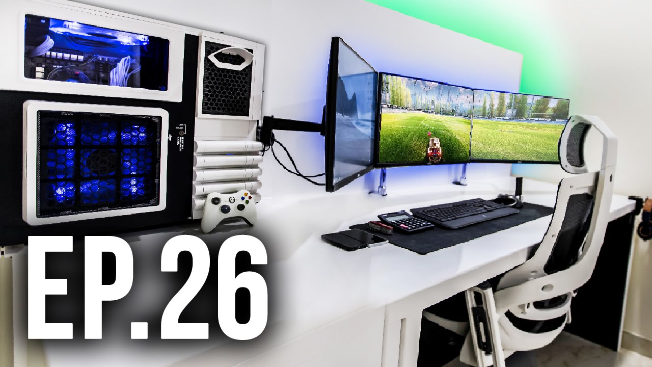 Room tour project 26 ft dom esposito best gaming setups How to make a gaming setup in your room