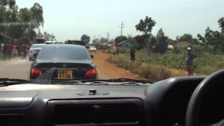 Fidel Odinga Convoy From Kisumu to Bondo(UnEdited)