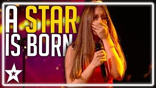 Watch kid singer Iveta on Ireland's Got Talent 2019, as she sings amazing Lady GaGa Cover - I'll Never Love Again from A Star Is Born. What did you think about ...
