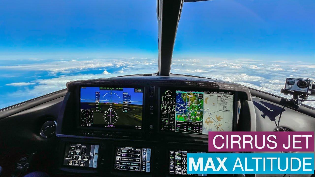 Cirrus SF50 - Max Altitude FL310 IFR To Scotland | Flight Vlog