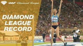 Mariya Lasitskene wins the Women's High Jump with a jump of 2.06 - IAAF Diamond League Lausanne 2017