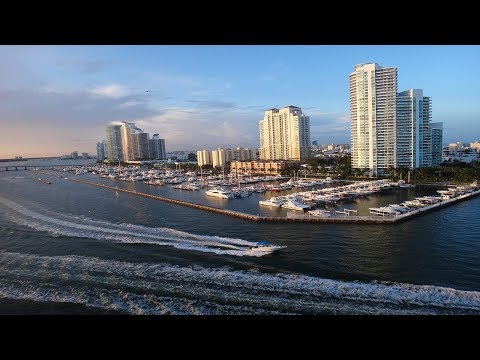 Port of Miami - Dodge Island { Carnival Splendor }