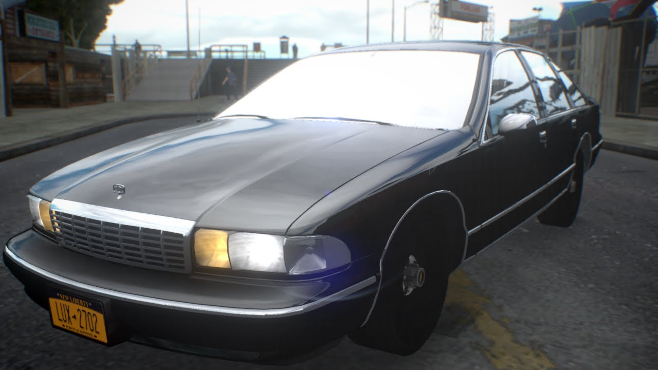 1994 unmarked chevrolet caprice gta iv car mod youtube