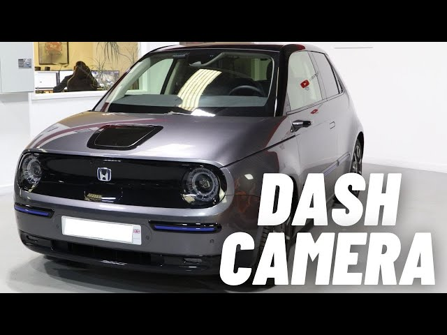 Honda E Front & Rear Dash Camera | Thinkware Q800 Pro 2k Resolution