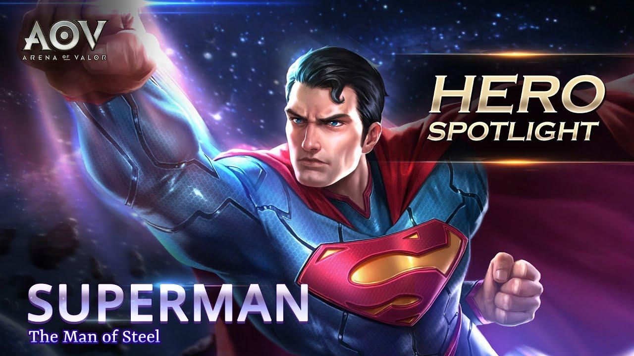 Superman Hero Spotlight Garena Aov Arena Of Valor