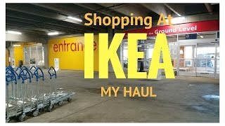 Shopping at IKEA ~ My Haul