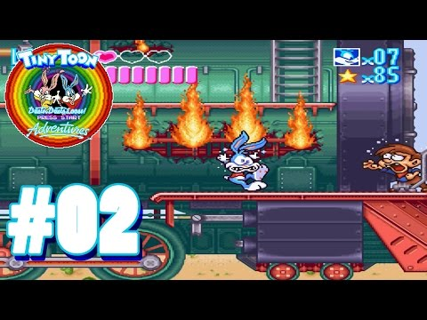 Der Wilde Westen - #02 - LP Tiny Toon Adventures: Buster Busts Loose [Deutsch]