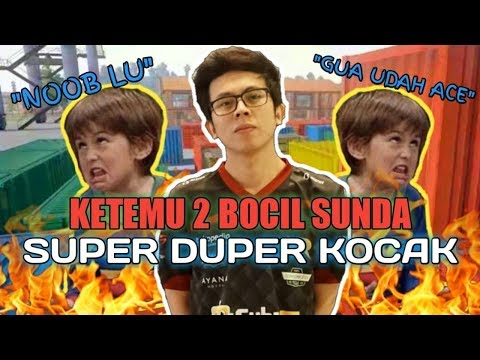 RANDOM SQUAD KETEMU 2 BOCIL SUNDA SUPER KOCAK !!! - PUBG MOBILE INDONESIA