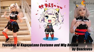 【Rolecosplay】 Youtuber AI KaguyaLuna Costume and Wig Review by Quackiess