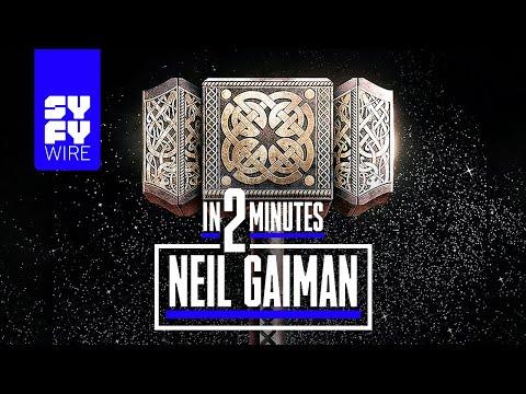 Neil Gaiman: 2 Minute Bio | SYFY WIRE