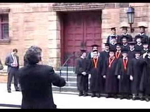 Collegiate School Class of 2007 Commencement picture