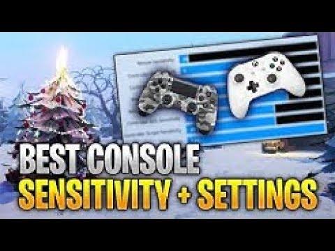 Best Controller Sensitivity Settings Fortnite After Update 7.20 (New Build/Edit Sens)