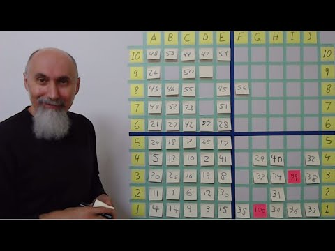 ASMR Math: Playing Our 10 By 10 Math Puzzle, Rules (24:10), Game #1 (29:30), Game #2 (1:40:00)