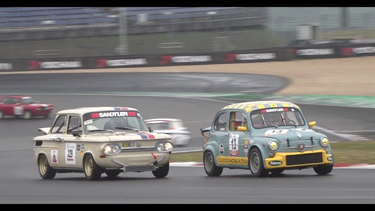 Download Kampf der Zwerge Nürburgring 2021 Race 1//Fiat Abarth//Mini Cooper//NSUTT//Simca Rallye