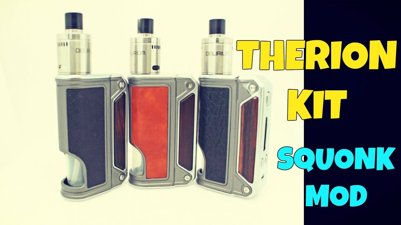 Vaping A Squonk Kit! The Therion BF DNA 75 First Look!