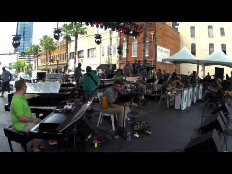 "Mica Bethea BigBand ""Wind Warriors"" 2015 Jax Jazz Fest"