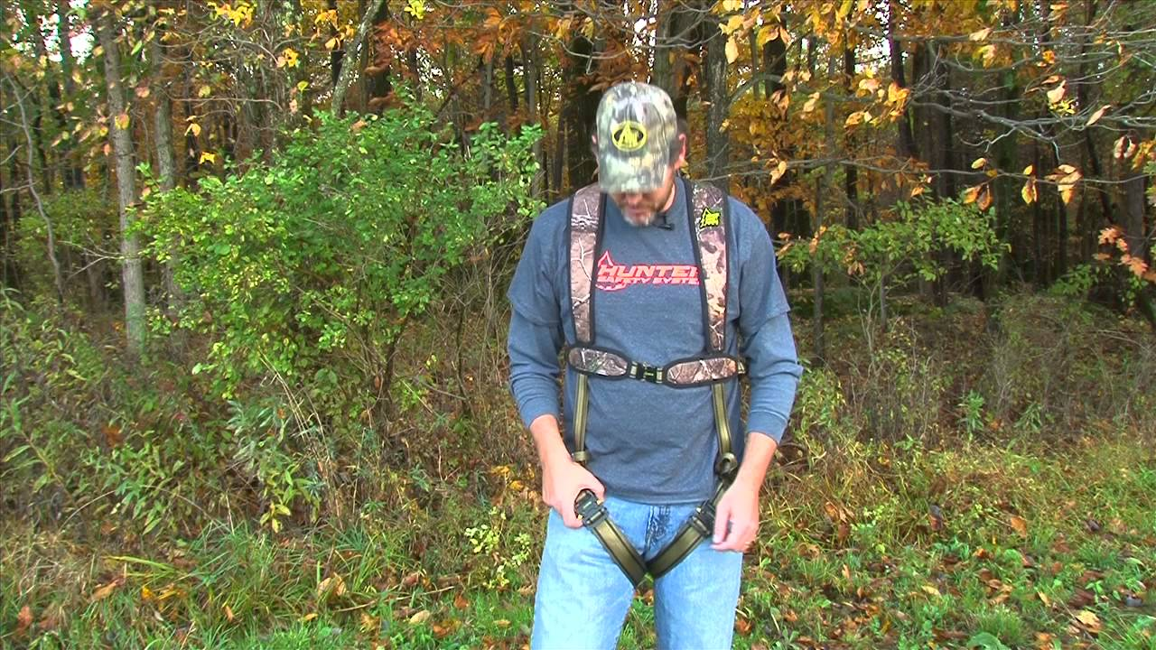maxresdefault how to adjust your hunter safety system harness youtube
