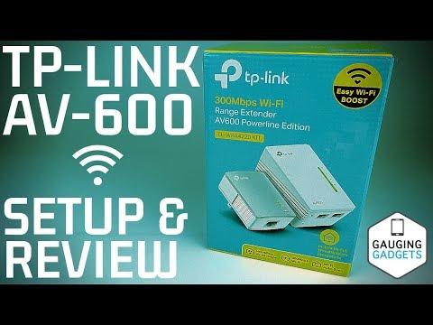 TP-Link AV600 Powerline WiFi Extender Review and Setup