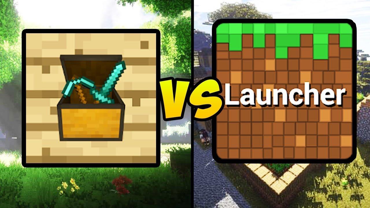 TOOLBOX FOR MINECRAFT PE VS BLOCKLAUNCHER (Minecraft PE Mod