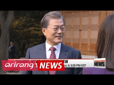 Pres. Moon's interview with Channel News Asia: reconfirms determination for peaceful ...