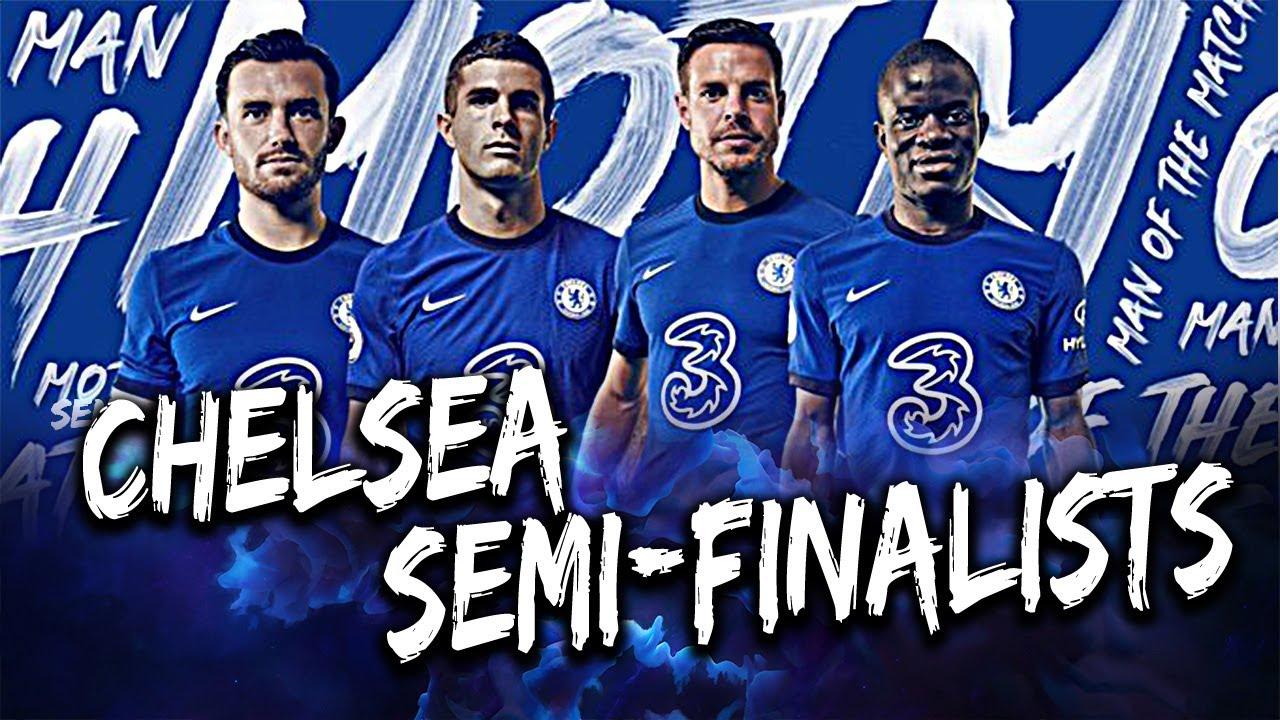 CHELSEA ARE THROUGH TO THE CHAMPIONS LEAGUE SEMI FINALS!!! Chelsea 0-1 Porto