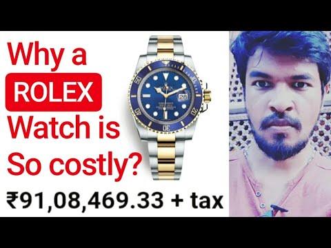 Why Rolex Watch Is So Costly?   Tamil   Madan Gowri