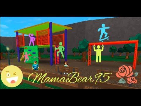 Bloxburg Build Your Own Playground Tour Speedbuild Youtube
