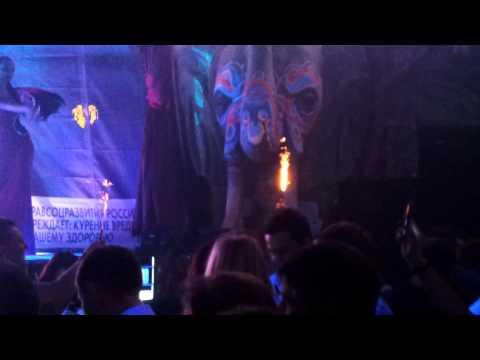 Joachim Garraud at club Paradise Moscow