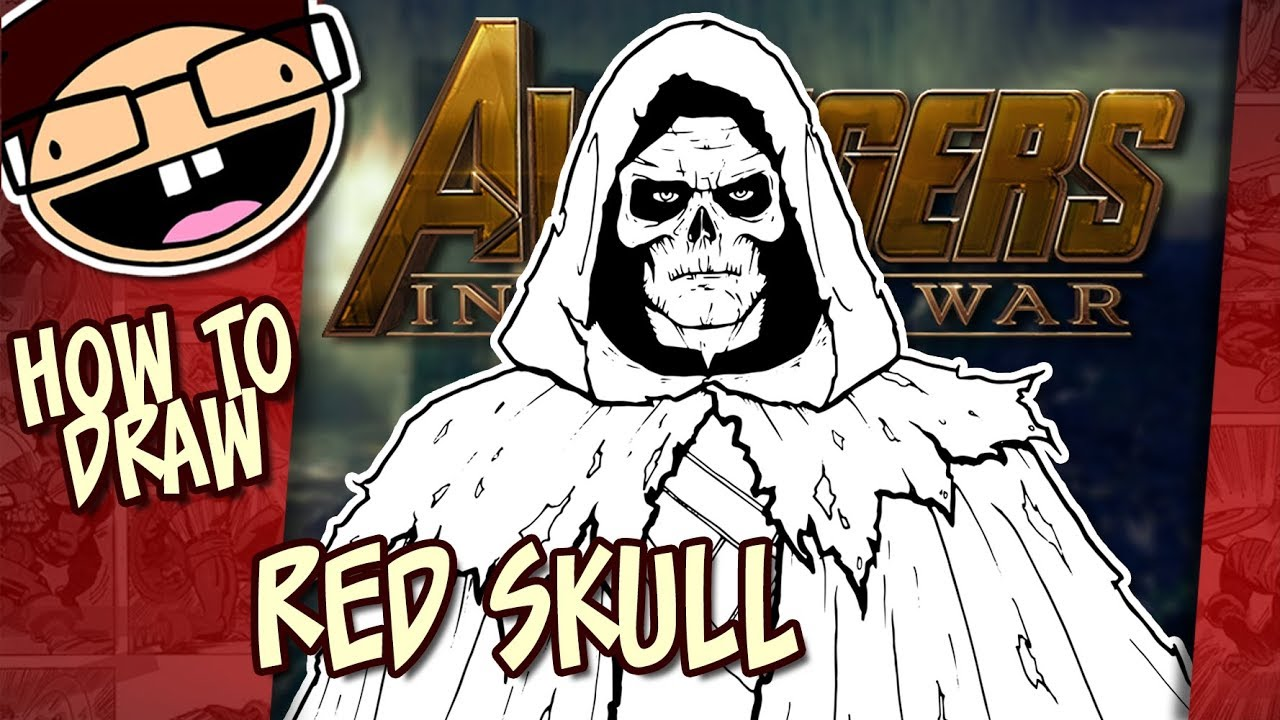 How to Draw the RED SKULL Avengers