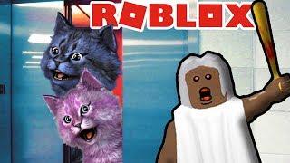СТРАШНЫЙ ЛИФТ С БАБУЛЕЙ В РОБЛОКС granny in roblox The Scary Elevator!